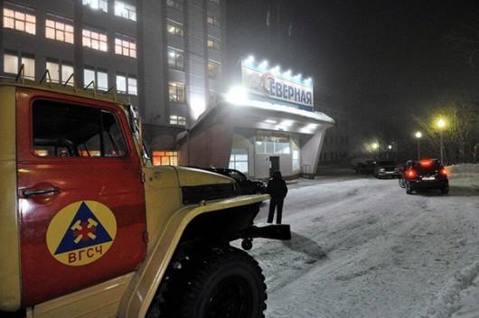 Workuta, Rosja - Dwa silne wybuchy w kopalni węgla -1