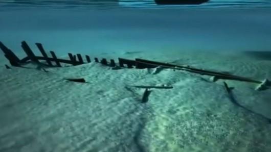 Z dna rzeki Hollandse Ijssel wydobyto średniowieczny statek