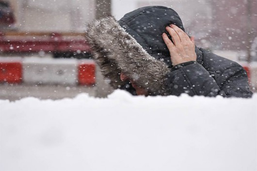 Śnieżyca w Denver -1