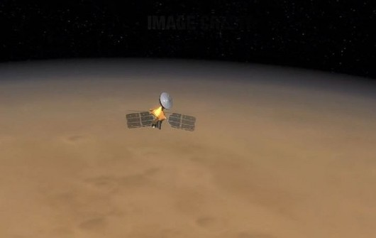 MRO na orbicie Marsa