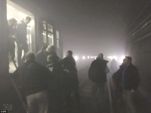 Belgia - Dwie eksplozje na lotnisku Zaventem w Brukseli -11