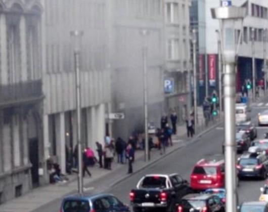 Belgia - Dwie eksplozje na lotnisku Zaventem w Brukseli -12