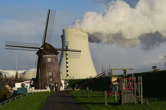 Belgia - Elektrownia atomowa