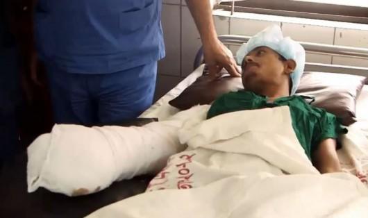 Abul Bajandar po udanej częściowej operacji