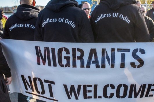Finlandia - Patrole Żołnierzy Odyna strzegą obywateli przed imigrantami