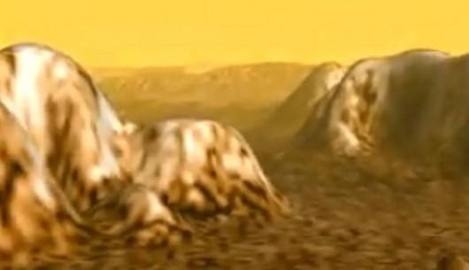 Formy geologiczne na Tytanie przypominają te, na Ziemi. Zdjęcie wykonała sonda Cassini NASA