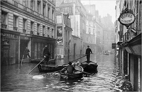 Francja - Władze ostrzegają mieszkańców Paryża przed kolejną wielką powodzią -1