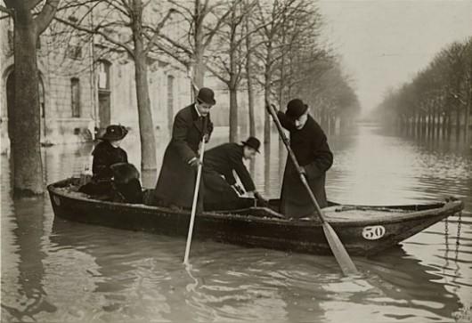 Francja - Władze ostrzegają mieszkańców Paryża przed kolejną wielką powodzią -4