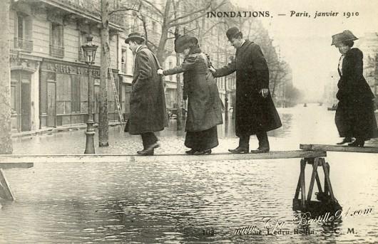 Francja - Władze ostrzegają mieszkańców Paryża przed kolejną wielką powodzią -5
