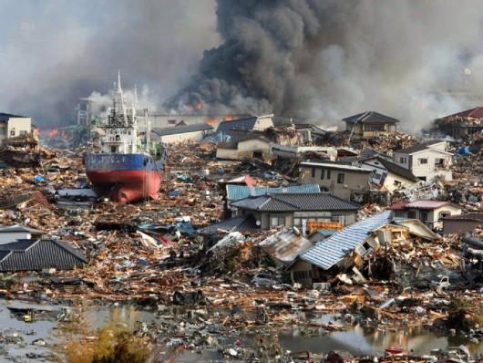 Fukushima 2011 - zniszczenia
