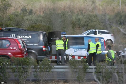 Hiszpania - W wypadku autokaru zginęło 14 studentów -3