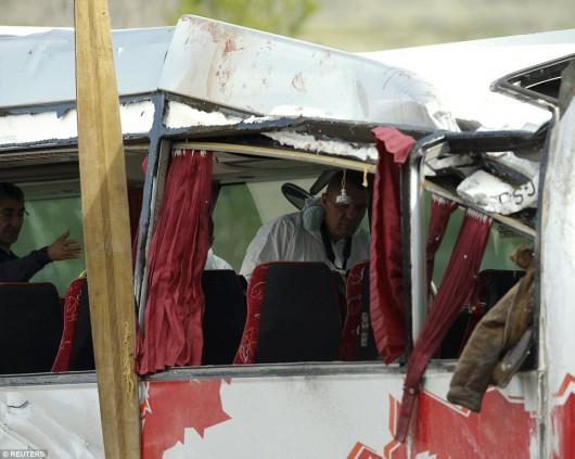 Hiszpania - W wypadku autokaru zginęło 14 studentów -5
