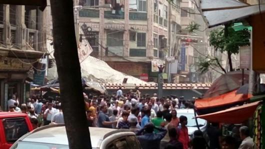 Kalkuta, Indie - Runął wiadukt -4