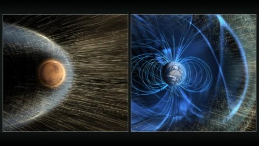 Kometa C 2013 A1, która w 2014 roku przeleciała w pobliżu Marsa zmiotła część górnej partii atmosfery planety tak, jak robi to bardzo silna burza słoneczna -2