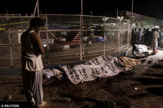 Lahore, Pakistan - Bomba wybuchła kilka metrów od placu zabaw -5