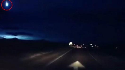 Meteor nad Szkocją