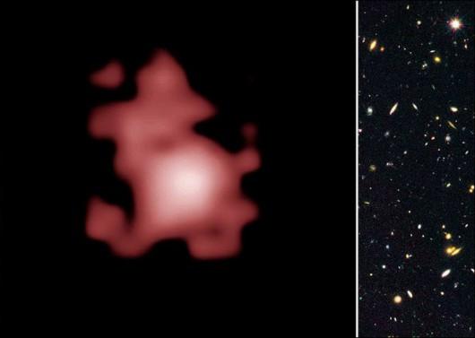 Najbardziej oddalona galaktyka uchwycona przez teleskop Hubble'a