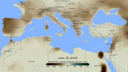 Największa susza od 900 lat dotknę zachodnie rejony Morza Śródziemnego