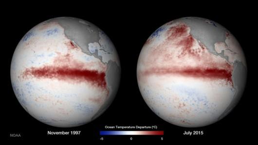 Naukowcy porównują El Niño z 1997 i 2015 roku