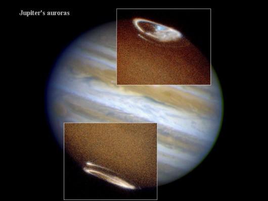 Niewidoczna gołym okiem zorza polarna - Jowisz -2