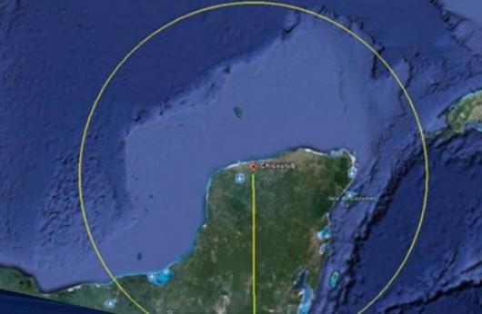 Półwysep Jukatan - Krater Chicxulub