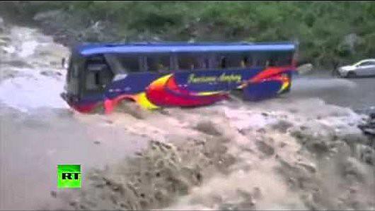 Peru - Ogromne powodzie w okolicach Cuzco -1