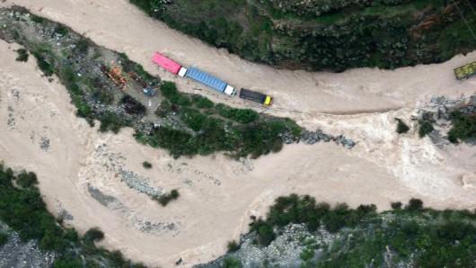 Peru - Ogromne powodzie w okolicach Cuzco -3