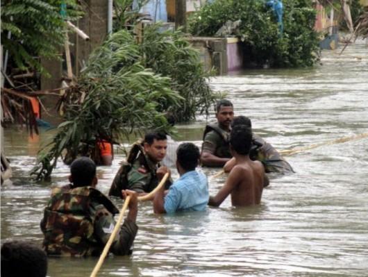 Peru - Ogromne powodzie w okolicach Cuzco -5