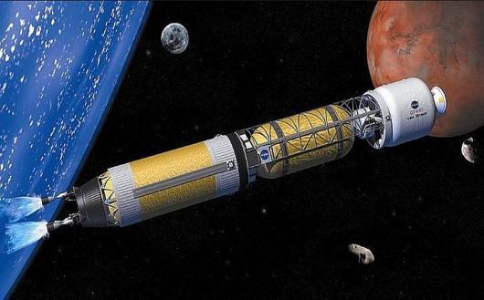Podróż na Marsa w półtora miesiąca to ambitny plan Rosjan