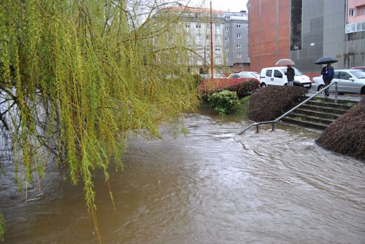 Powódź na północy Hiszpanii -3