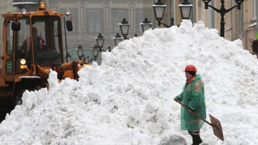 Rosja - W Moskwie wystąpiła największa śnieżyca tej zimy -1