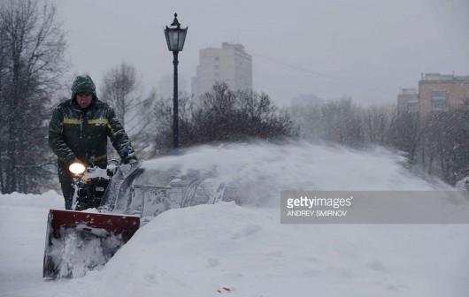 Rosja - W Moskwie wystąpiła największa śnieżyca tej zimy -3