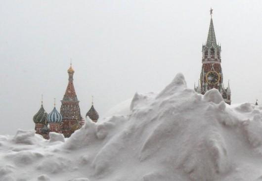 Rosja - W Moskwie wystąpiła największa śnieżyca tej zimy -4