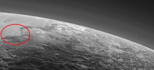Sonda New Horizons znalazła chmury w atmosferze Plutona -1