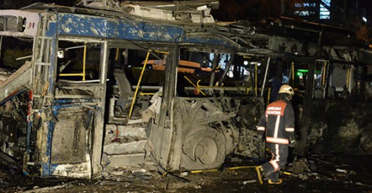 Turcja - Potężna eksplozja w Ankarze -11