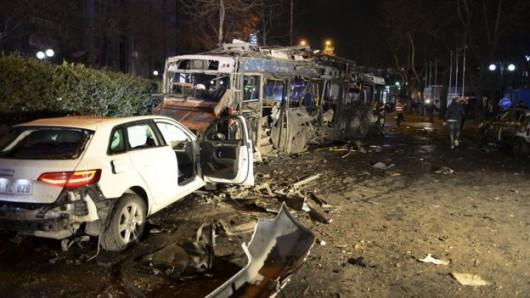 Turcja - Potężna eksplozja w Ankarze -12