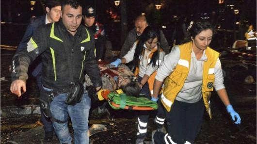 Turcja - Potężna eksplozja w Ankarze -13