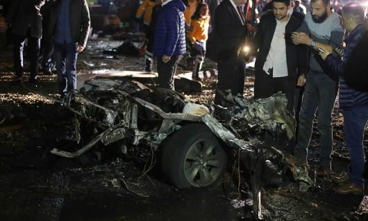 Turcja - Potężna eksplozja w Ankarze -14