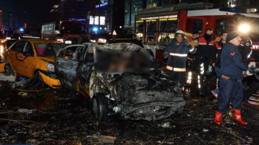 Turcja - Potężna eksplozja w Ankarze -8