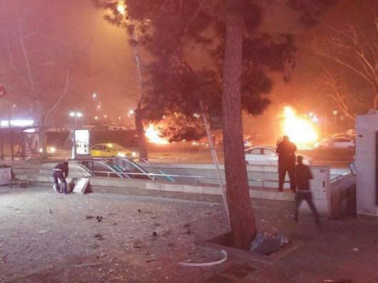Turcja - Potężna eksplozja w Ankarze -9