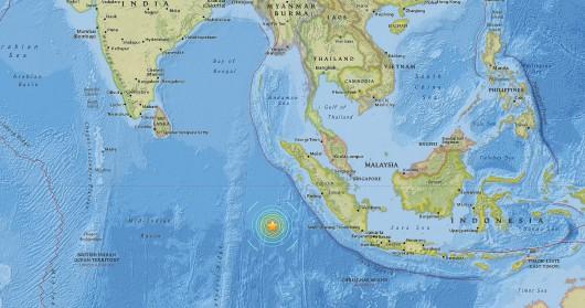 Tzręsienie ziemi Indonezja