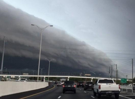 USA - Ogromny wał szelfowy na Florydzie -1