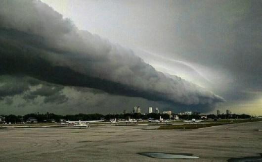 USA - Ogromny wał szelfowy na Florydzie -3