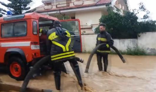 Włochy - zagrożenie powodziowe