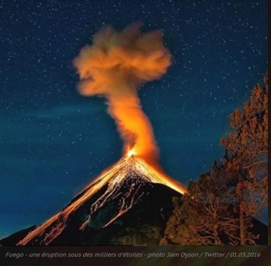 Wulkan Fuego - Gwatemala 2