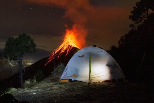 Wulkan Fuego - Gwatemala