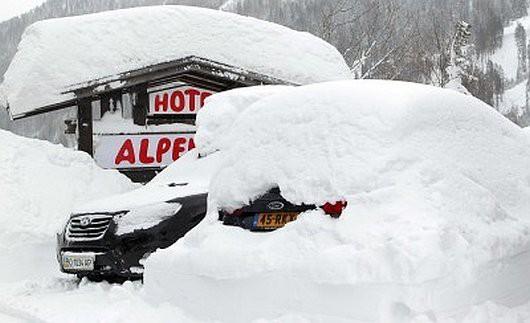 Austria - Ogromne straty w rolnictwie z powodu mrozów i obfitych opadów śniegu -15
