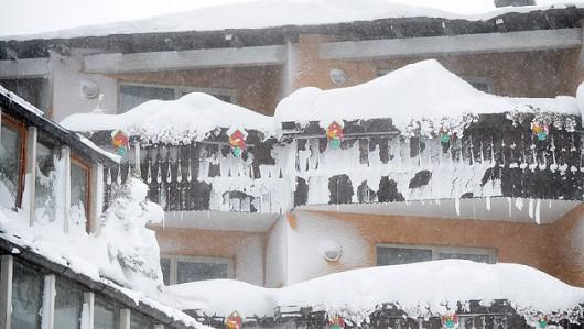 Austria - Ogromne straty w rolnictwie z powodu mrozów i obfitych opadów śniegu -2
