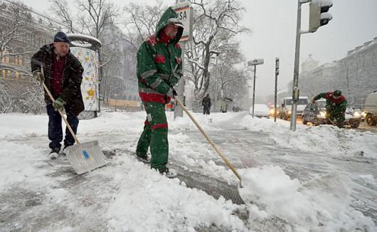 Austria - Ogromne straty w rolnictwie z powodu mrozów i obfitych opadów śniegu -3