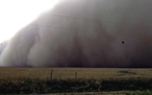 Burza piaskowa - Texhoma